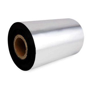 110mm x 450m Blank Thermal Transfer Wax Resin Barcode Ribbon
