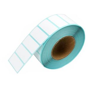 20mm x 10mm Self Adhesive Direct Thermal Blank Labels -700/Roll