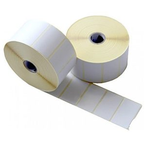 50mm x 25mm Self Adhesive Direct Thermal Labels -1000/Roll