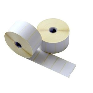 60mm x 40mm Self Adhesive Direct Thermal Blank Labels -700/Roll