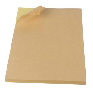 A4 Sheet Blank Kraft Paper Shipping Labels – 100 Sheets