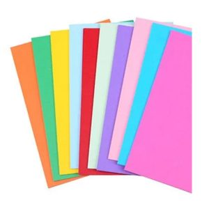 A4 Size Coloured Paper Sheets