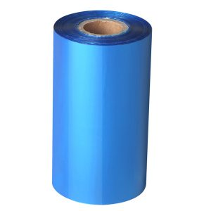 Thermal Transfer Blue Wax/Resin Barcode Ribbon