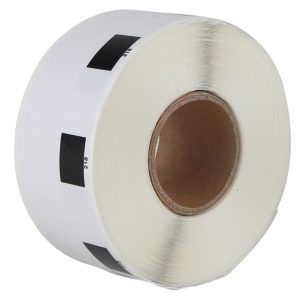 24mm Round*1000 Labels/Roll DK-11218/DK11218 Thermal Paper Label Rolls Compatible for Brother QL Label Printer