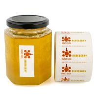 Self Adhesive Tearable-proof Label Stickers For Food Jars