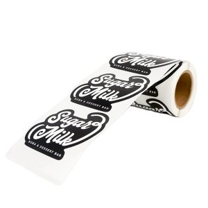 Self Adhesive Logo Waterproof Labels For Sugar & Candy Packing