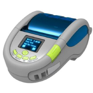 Bluetooth portable wireless mini barcode printer