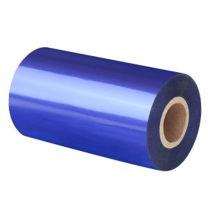 Thermal Transfer Navy Blue Wax/Resin Barcode Ribbon