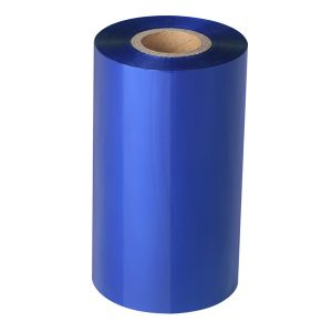 Thermal Transfer Navy Blue Wax Barcode Ribbon