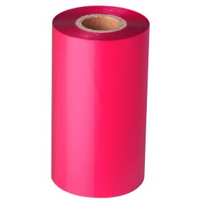 Thermal Transfer Pink Wax Barcode Ribbon