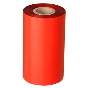 Thermal Transfer Red Resin Barcode Ribbon