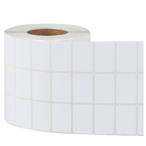 80mm x 40mm – Blank Thermal Paper Self Adhesive Barcode Thermal Transfer Labels 1000/Roll