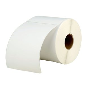 102mm x 152mm – Blank Thermal Paper Self Adhesive Barcode Printer Labels -500pcs/Roll
