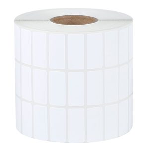 32mm x 15mm – Blank Thermal Paper Self Adhesive Barcode Thermal Transfer Labels 10000pcs/Roll