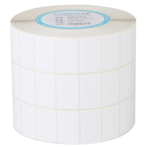 Blank Stickers Paper Roll