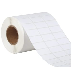 32mm x 15mm – Blank Thermal Paper Adhesive Barcode Thermal Transfer Labels -5000pcs/Roll
