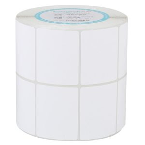 40mm x 30mm – Blank Thermal Paper Tear Off Heat Transfer Pharmacy Barcode Labels -2500pcs/Roll