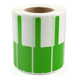 Scratch Resistant Wire Cable Labels – Green