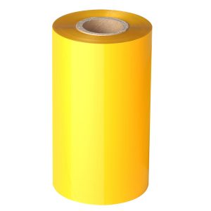 Thermal Transfer Yellow Resin Barcode Ribbon