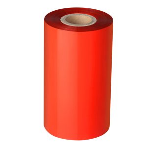 90mm x 300m – 25mm Core Red Blank Thermal Transfer Barcode Color Ribbon