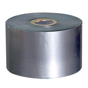 20mm x 100m – Silver Hot Stamping Foil Coding Ribbon for Foil Stamping Machine